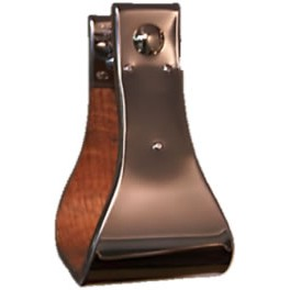 """Stainless Steel Stirrups 4/"""" Bell"""